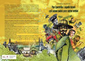 """Zapraszamy do lektury książki """"Pan Szpachelka i zagadki historii czyli szalona podróż przez siedem wieków"""""""