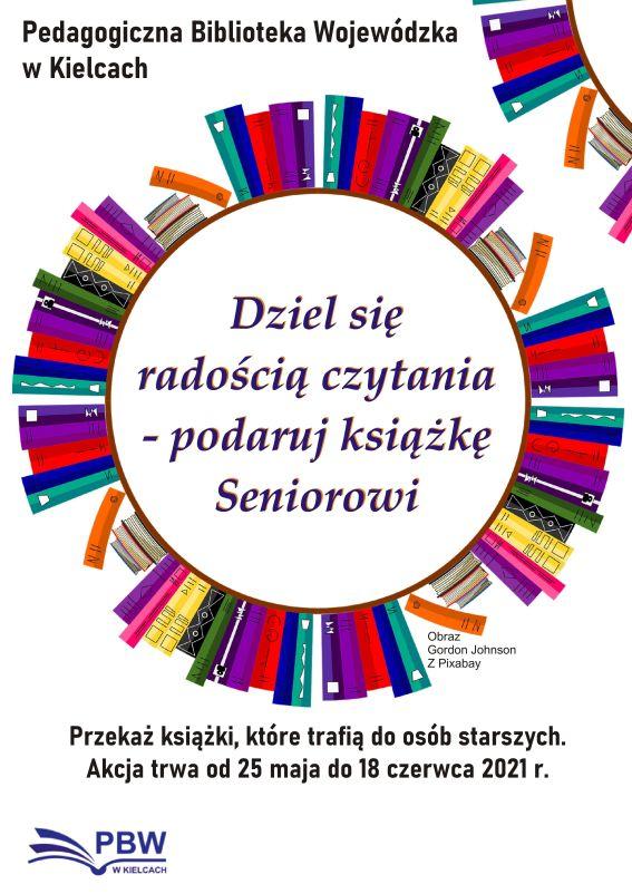 Dziel się radością czytania – podaruj książkę Seniorowi